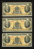 Canadian Currency: , Montreal, PQ- Royal Bank of Canada $5 Jan. 2, 1935 Charlton630-18-02a Three Examples. ... (Total: 3 notes)