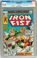 Bronze Age (1970-1979):Superhero, Iron Fist #14 (Marvel, 1977) CGC NM/MT 9.8 White pages....