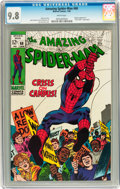 Silver Age (1956-1969):Superhero, The Amazing Spider-Man #68 (Marvel, 1969) CGC NM/MT 9.8 Whitepages....