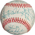 Autographs:Baseballs, 1987 Minnesota Twins Team Signed Baseball....