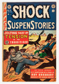 Golden Age (1938-1955):Horror, Shock SuspenStories #9 (EC, 1953) Condition: FN+....