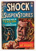Golden Age (1938-1955):Horror, Shock SuspenStories #7 (EC, 1953) Condition: VG....