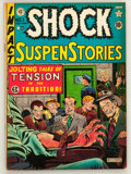 Golden Age (1938-1955):Horror, Shock SuspenStories #1 (EC, 1952) Condition: VG+....