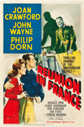 "Movie Posters:War, Reunion in France (MGM, 1942). One Sheet (27"" X 41"") Style D.. ..."