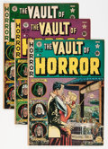 Golden Age (1938-1955):Horror, Vault of Horror #13 and 18-20 Group (EC, 1950-52) Condition:Average VG+.... (Total: 4 Comic Books)