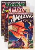 Pulps:Science Fiction, Amazing Stories Group (Ziff-Davis, 1938-51) Condition: AverageVG-.... (Total: 9 Items)