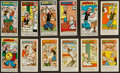 """Non-Sport Cards:Sets, Primrose Confectionery """"Popeye"""" 1961 3rd Series and 1970 4th Series Complete Set Pair (2). ..."""