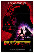 "Movie Posters:Science Fiction, Revenge of the Jedi (20th Century Fox, 1982). One Sheet (27"" X 41"")Flat Folded Advance.. ..."