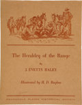 Books:Signed Editions, J. Evetts Haley. The Heraldry of the Range....