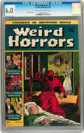 Golden Age (1938-1955):Horror, Weird Horrors #1 (St. John, 1952) CGC FN 6.0 Cream to off-whitepages....