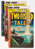 Golden Age (1938-1955):War, Two-Fisted Tales Group (EC, 1952-55).... (Total: 6 Comic Books)