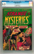 Golden Age (1938-1955):Horror, Strange Mysteries #6 (Superior, 1952) CGC FN+ 6.5 Cream tooff-white pages....