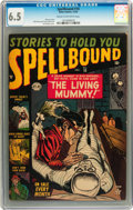 Golden Age (1938-1955):Horror, Spellbound #10 (Atlas, 1952) CGC FN+ 6.5 Cream to off-whitepages....