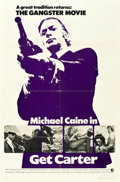 """Movie Posters:Crime, Get Carter (MGM, 1971). One Sheet (27"""" X 41"""") Advance.. ..."""
