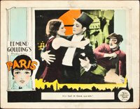 "Paris (MGM, 1926). Lobby Card (11"" X 14"")"