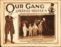 "Movie Posters:Comedy, Our Gang in Heebee-Jeebees (MGM, 1927). Lobby Card (11"" X 14"")....."