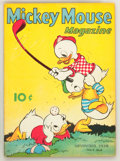 Golden Age (1938-1955):Cartoon Character, Mickey Mouse Magazine V4#2 (K. K. Publications/ Western PublishingCo., 1938) Condition: FN+....