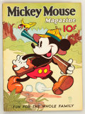 Platinum Age (1897-1937):Miscellaneous, Mickey Mouse Magazine #7 (K. K. Publications/ Western PublishingCo., 1936) Condition: Apparent FN+....