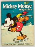 Golden Age (1938-1955):Cartoon Character, Mickey Mouse Magazine #4 (K. K. Publications/ Western Publishing Co., 1935) Condition: Apparent FN+....
