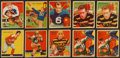 Football Cards:Lots, 1935 National Chicle Football Collection (21). ...