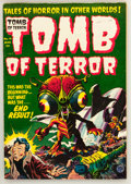 Golden Age (1938-1955):Horror, Tomb of Terror #14 (Harvey, 1954) Condition: VF....