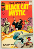 Silver Age (1956-1969):Horror, Black Cat Mystic #62 (Harvey, 1958) Condition: VF....