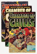 Golden Age (1938-1955):Horror, Chamber of Chills Group (Harvey, 1952-53).... (Total: 4 ComicBooks)