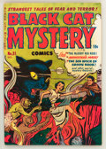 Golden Age (1938-1955):Horror, Black Cat Mystery #31 (Harvey, 1951) Condition: FN+....
