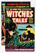Golden Age (1938-1955):Horror, Witches Tales #4 and 24 Group (Harvey, 1951-54).... (Total: 2 ComicBooks)
