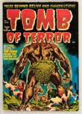 Golden Age (1938-1955):Horror, Tomb of Terror #1 (Harvey, 1952) Condition: FN-....