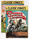 Golden Age (1938-1955):Classics Illustrated, Classic Comics #20 and 24 Group (Gilberton, 1944-45).... (Total: 2Comic Books)