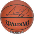 Basketball Collectibles:Balls, Scottie Pippen Signed Basketball....
