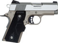 Handguns:Semiautomatic Pistol, Boxed Colt Defender Series 90 Lightweight Semi-Automatic Pistol....
