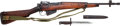 Long Guns:Bolt Action, British No. 5 Mk I Bolt Action Jungle Carbine and Bayonet....