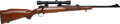 Long Guns:Bolt Action, Post 64 Winchester Model 70 Bolt Action Rifle with Scope....