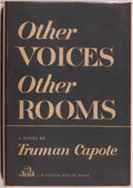 Books:Literature 1900-up, Truman Capote. CAPOTE'S FIRST BOOK. Other Voices, OtherRooms. New York: Random House, 1948. First printing. Oct...
