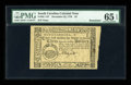 Colonial Notes:South Carolina, South Carolina December 23, 1776 $3 PMG Gem Uncirculated 65 EPQ....