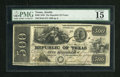 Obsoletes By State:Texas, Austin, TX- Republic of Texas $500 Jan. 1, 1840 Criswell A9 Medlar 29 Olson 772. ...