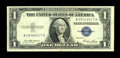 Error Notes:Mismatched Serial Numbers, Fr. 1614 $1 1935E Silver Certificate. Very Fine+.. ...