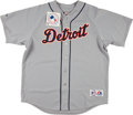 """Baseball Collectibles:Uniforms, Cecil Fielder """"51 HRs 1990"""" Signed Detroit Tiger Jersey...."""