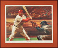 Baseball Collectibles:Others, Stan Musial Signed Lithograph....