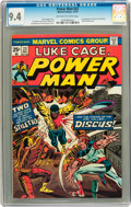 Bronze Age (1970-1979):Superhero, Power Man #22 (Marvel, 1974) CGC NM 9.4 Off-white to white pages....