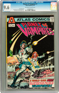 Bronze Age (1970-1979):Science Fiction, Planet of Vampires #1 (Atlas-Seaboard, 1975) CGC NM+ 9.6 Off-white to white pages....