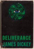 Books:Fiction, James Dickey. Deliverance. Boston: Houghton Mifflin Company, 1970. First edition. Octavo. 278 pages. Publisher's...