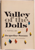 Books:Fiction, Jacqueline Susann. SIGNED. Valley of the Dolls. [New York]:Bernard Geis Associates,, 1966. First printing. Si...