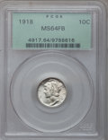 Mercury Dimes: , 1918 10C MS64 Full Bands PCGS. PCGS Population (165/135). NGCCensus: (103/72). Mintage: 26,680,000. Numismedia Wsl. Price ...
