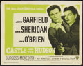 """Movie Posters:Crime, Castle on the Hudson (Warner Brothers, R-1949). Title Lobby Card(11"""" X 14""""). Crime.. ..."""