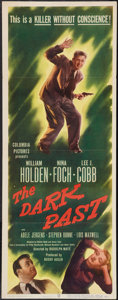 "Movie Posters:Crime, The Dark Past (Columbia, 1949). Insert (14"" X 36""). Crime.. ..."