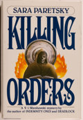 Books:Mystery & Detective Fiction, Sara Paretsky. Killing Orders. New York: William Morrow andCompany, Inc., 1985. First edition. Octavo. 288 page...