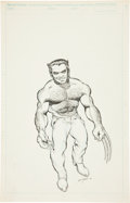 Original Comic Art:Splash Pages, Bill Jaaska Wolverine Splash Page Original Art (1990)....